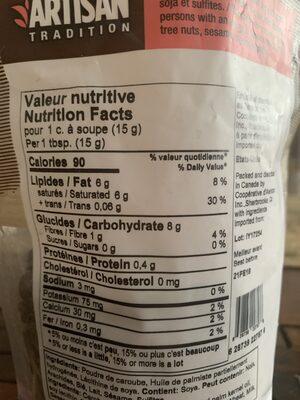 Brisures de caroubes - Nutrition facts - fr