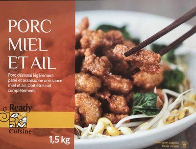 Porc miel et ail - Product