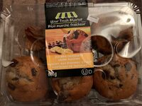 Your Fresh Market Banana Chocolate Chunk Muffins - Produit - fr