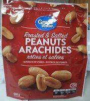 arachides rôties et salées - Product - fr
