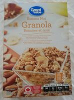 Granola bananes et noix - Product