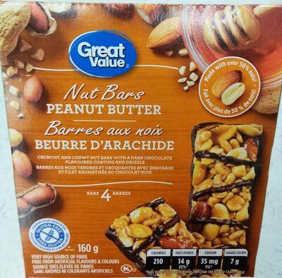 Barre aux noix beurré d arachide - Produit