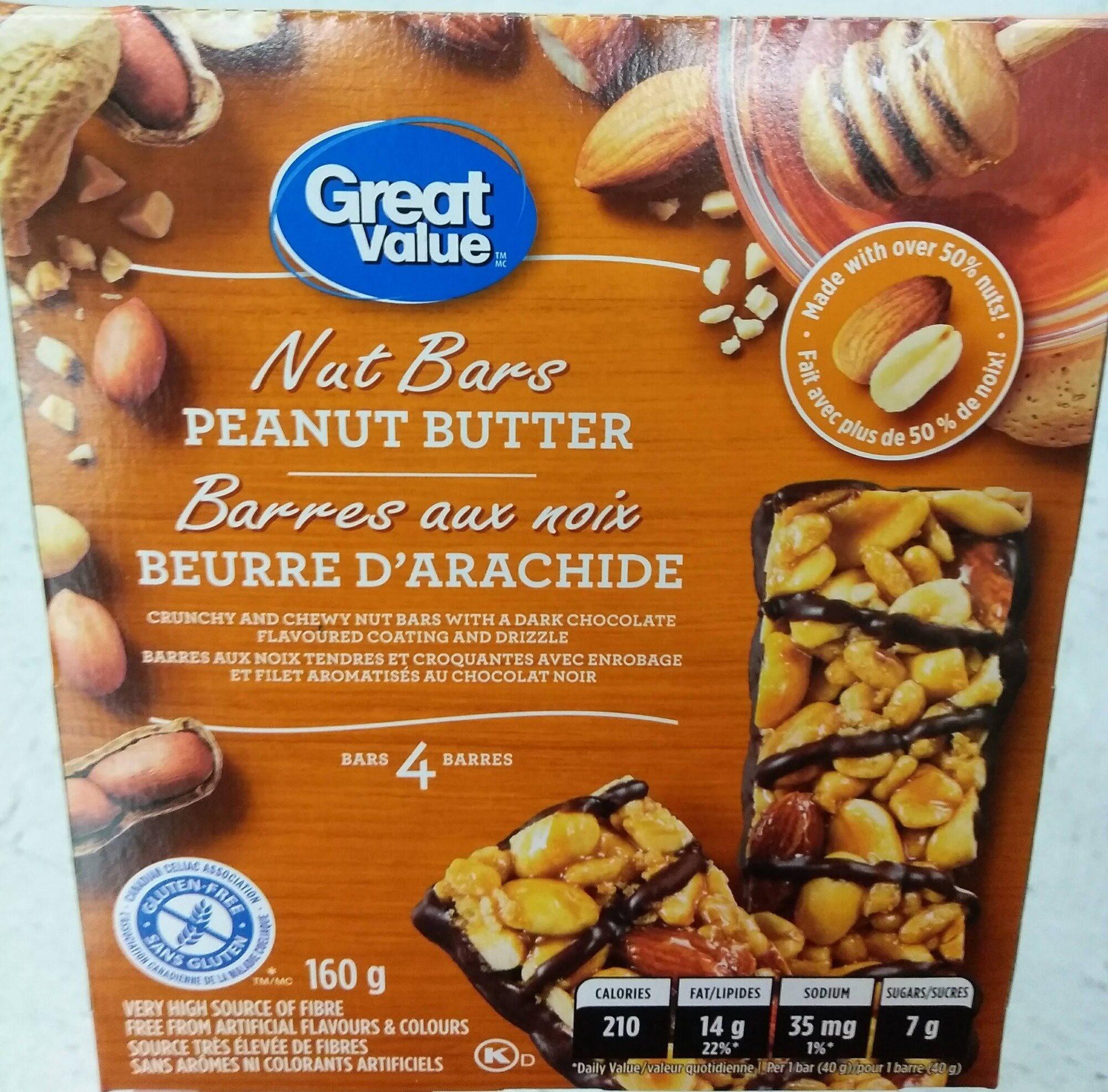 Barre aux noix beurré d arachide - Product