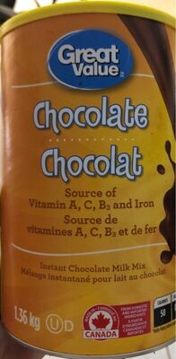Chocolat en poudre - Produit - fr
