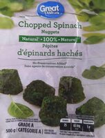 Chopped Spinach - Product - en