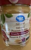 Peanut Butter (Natural & Crunchy) - Produit - fr