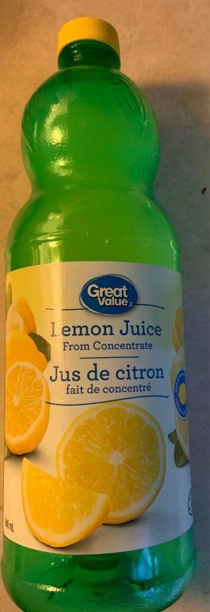 Jus de citron - Product - fr