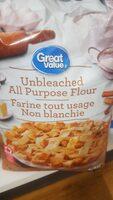 Great value unbleached all purpose flour - Produit - en