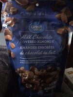 Milk Chocolate Almonds - Product - fr