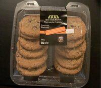 Cookies avoine pepites de chocolat - Produit - fr
