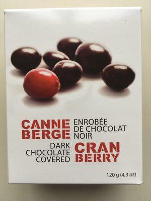 Dark Chocolate Covered Cranberry - Produit - en