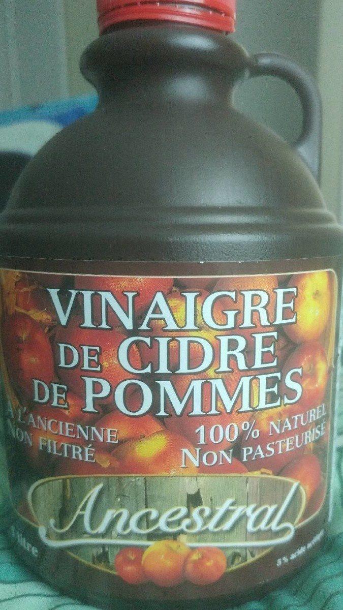 Vinaigre de cidre de pommes - Produit - fr