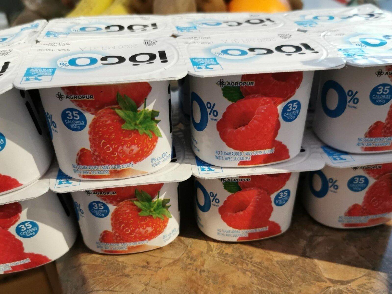 Yogourt Iogo 0% (4 Variétées) - Produit - fr