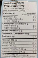 Yogourt Iogo 0% (4 Variétées) - Informations nutritionnelles - fr