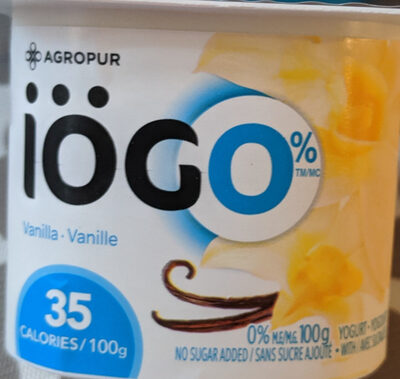 Iögo Crémeux Vanille - Product - fr