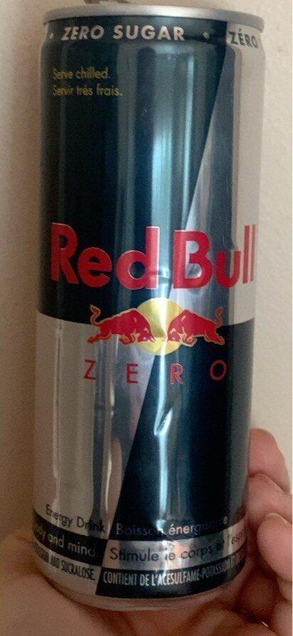 Redbull zero - Product - fr