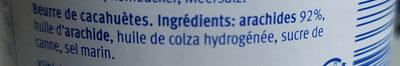 - Ingredients - it