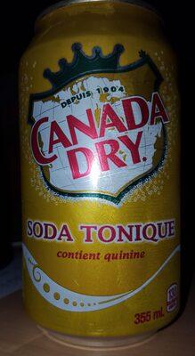 Canada Dry Soda Tonique - 1