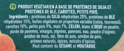 Veggie balls - Ingredienti - fr