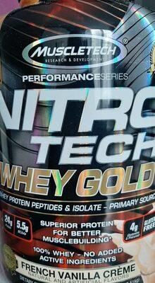 Nitro Tech Whey gold - 3
