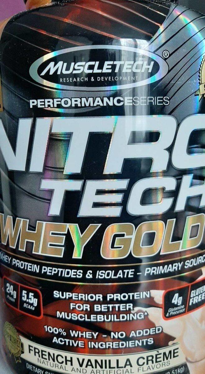 Nitro Tech Whey gold - Product - en