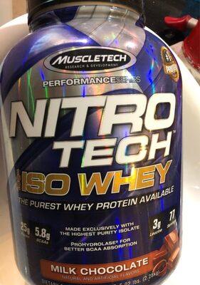 Nitrotech, iso whey - Ürün - fr