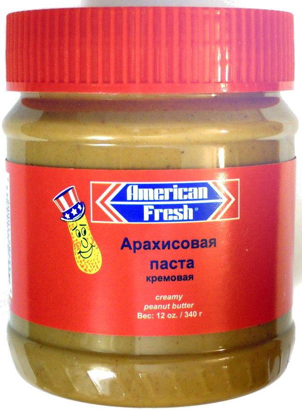 Арахисовая паста кремовая - Product - ru