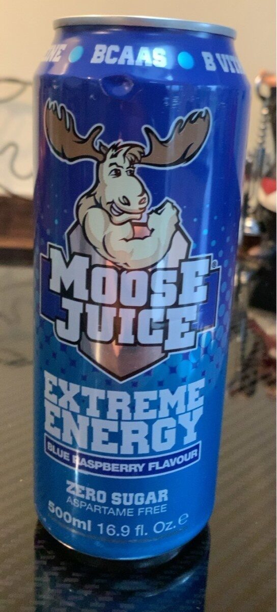 Extreme Energy Blue Raspberry - Product - en