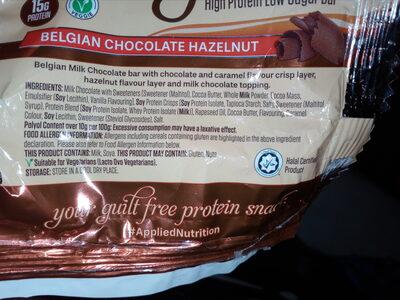 Protein Indulgence Belgian Chocolate Hazelnut - 3