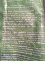 Seaweed crisps - Ingrédients - en
