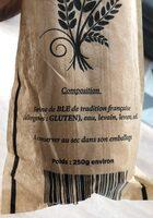 Baguette De tradition - Istruzioni per il riciclaggio e/o informazioni sull'imballaggio - fr