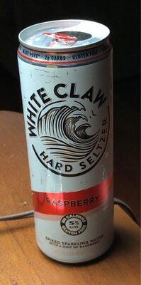 White Claw Hard Seltzer - Raspberry - Product - en