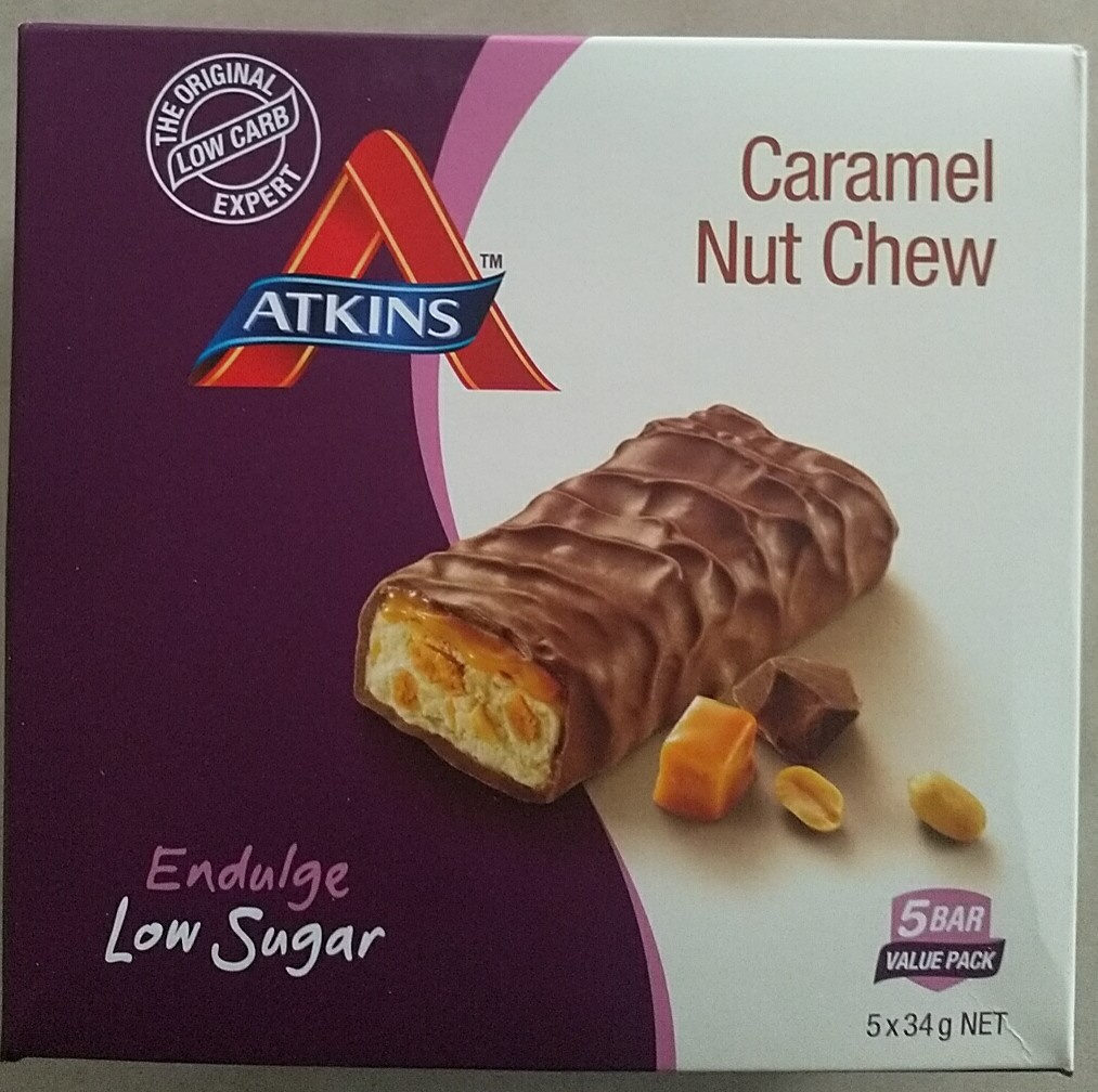 Caramel Nut Chew - Product - en