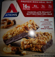 Chocolate Peanut Butter Pretzel Bar - Product