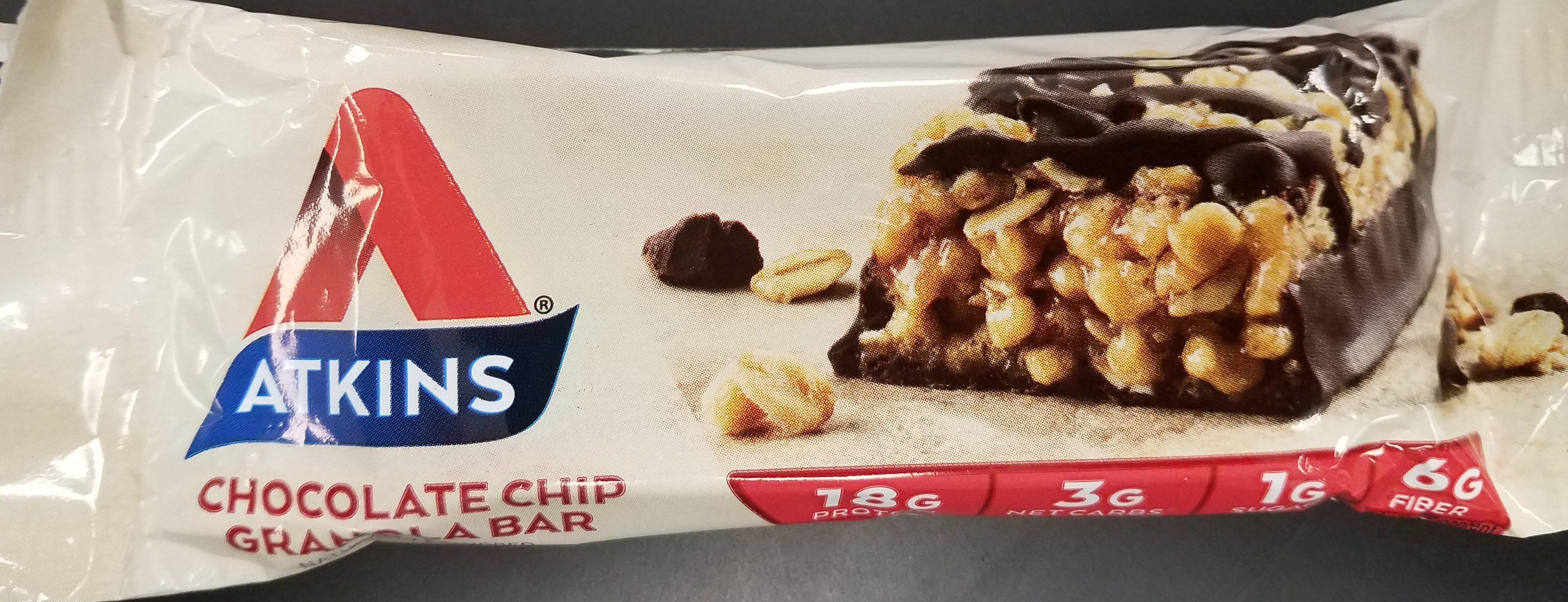 Chocolate Chip Granola Bar - Product - en