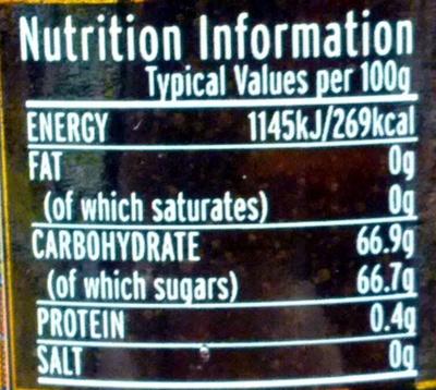 Vintage marmalade - Nutrition facts - en