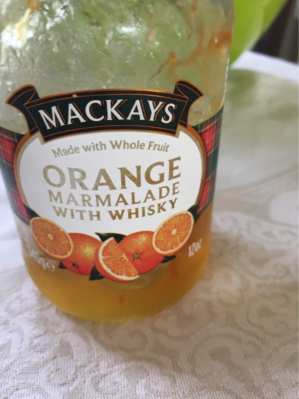 Mackays Orange marmalade with Whisky - Product - fr