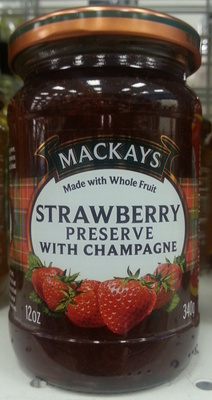 Strawberry Preserve with Champagne - Product