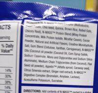 N-Mass - Ingredients - en