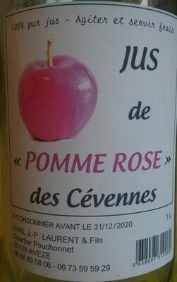 Jus de «pomme rose» des Cévennes - Product - en