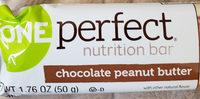 Nutrition Bar, Chocolate Peanut Butter - Product - en