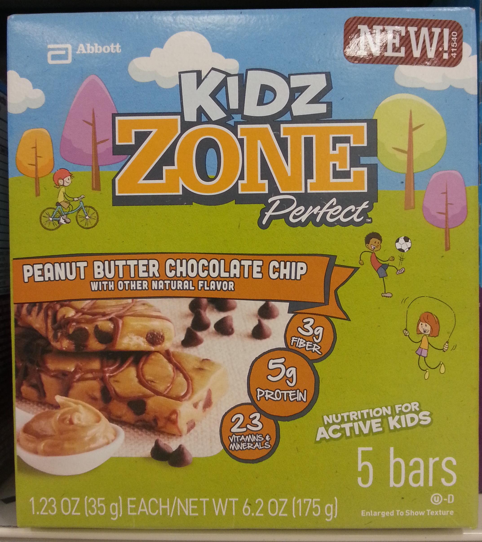 Peanut butter chocolate chip bar - Product - en