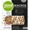 Zone perfect macros fruity cereal bars - Product