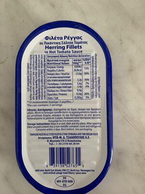 Heringsdörfer - Informations nutritionnelles - de