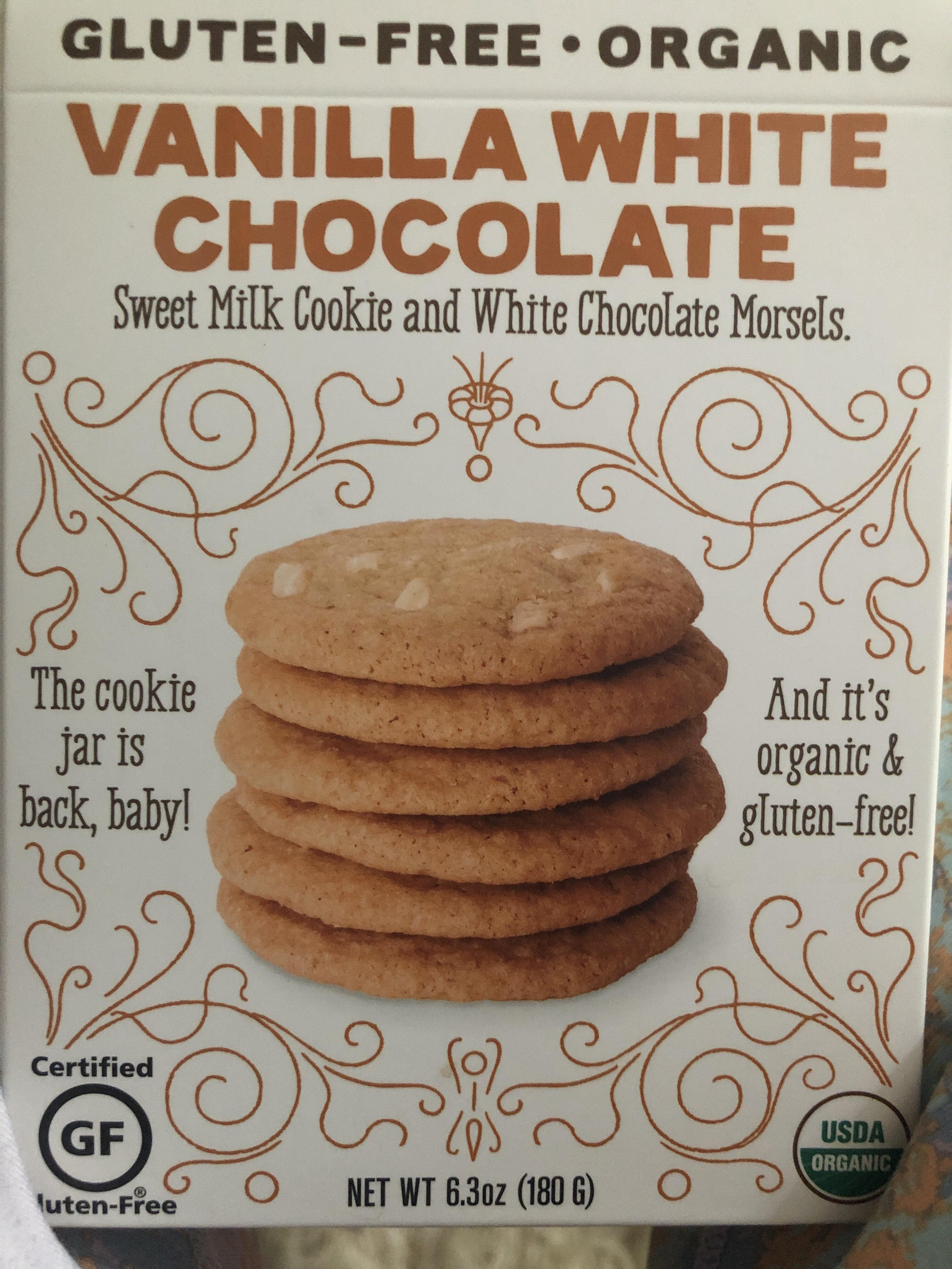 Vanilla white chocolate - Product - en
