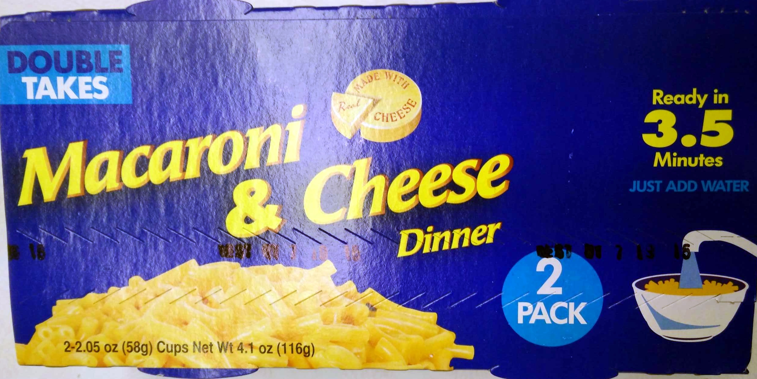 Macaroni & Cheese Dinner - Product - en