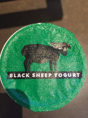 Black sheep yogurt - Product