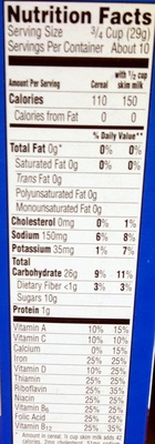 Frosted Flakes - Nutrition facts - en