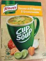 Cup soup knorr - Product - fr