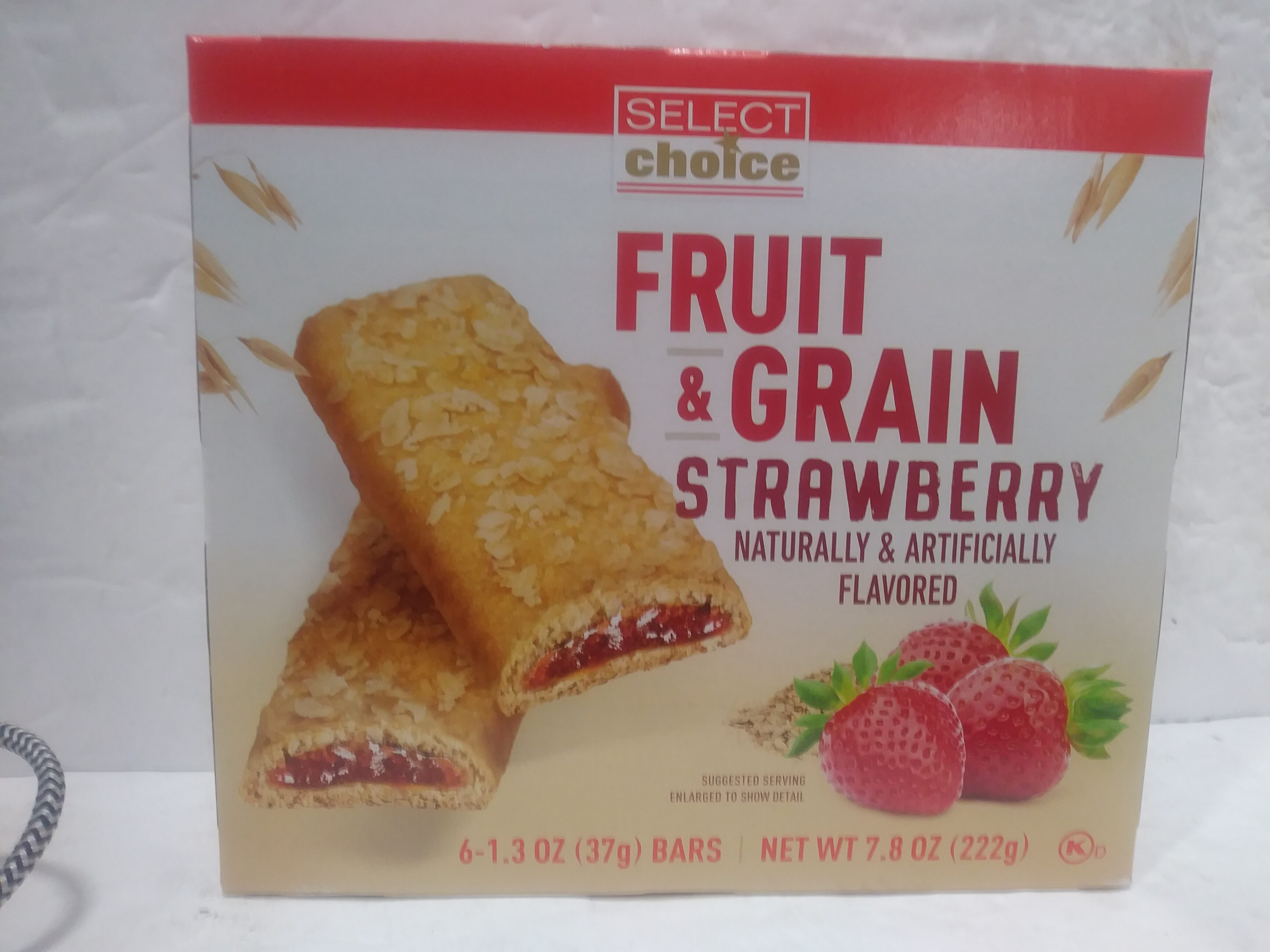 Fruit & Grain Bar - Strawberry - Product - en